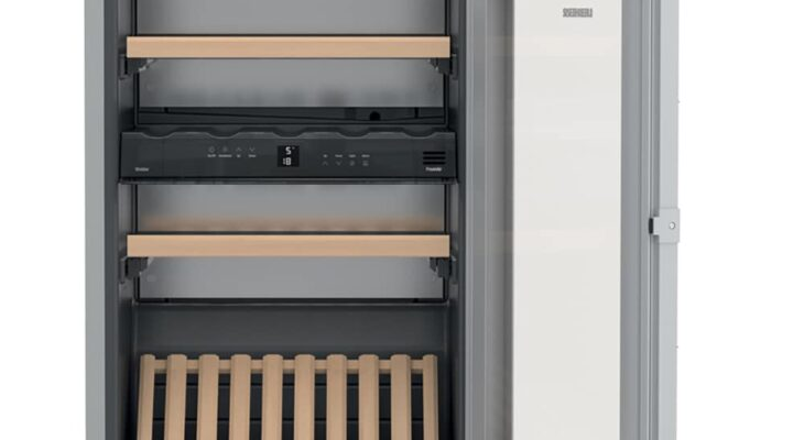 Beépíthető borhűtők változatos kapacitással